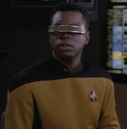 Geordi hologram, 2369