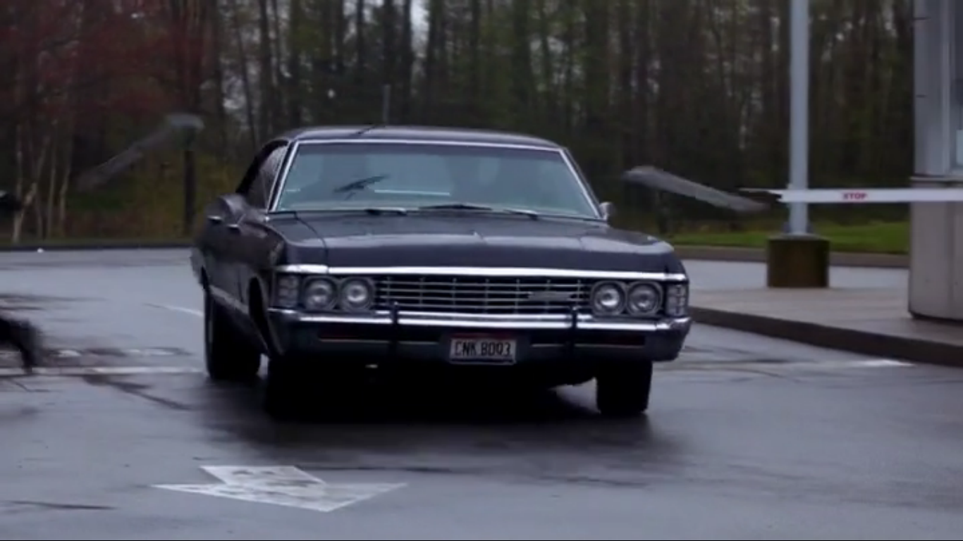 The Impala Supernatural Scary Just Got Sexy