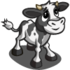 Black and White Calf-icon