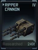 Ripper Cannon