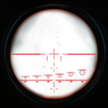 M14 night vision scope overlay CoD4