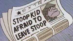 Stoop Kids Afraid To Leave Stoop
