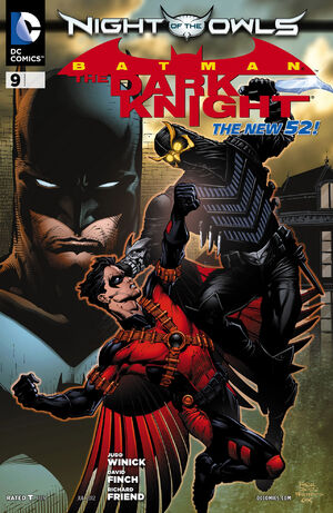 Cover for Batman: The Dark Knight #9