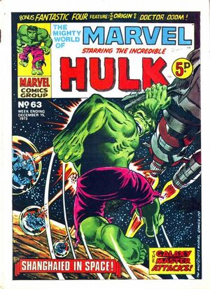 Mighty World of Marvel Vol 1 63