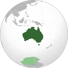 Map of the AUS