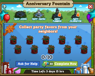 Anniversary Fountain Stage 2
