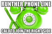 Runther phone line