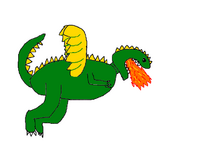 GreenYellowWingerDragon