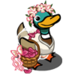 Flower Girl Duck-icon