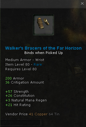 Walkers Bracers of the Far Horizon