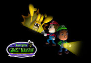 Nintendo Land - Luigi's Ghost Mansion Title Screen