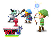 Nintendo Land - The Legend of Zelda Battle Quest Title Screen
