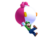 New Super Mario Bros. U artwork - Luigi & Yoshi 1
