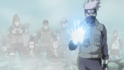 Kakashi's strategy initiated