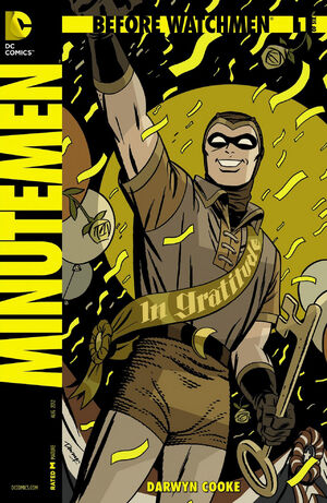 Cover for Before Watchmen: Minutemen #1