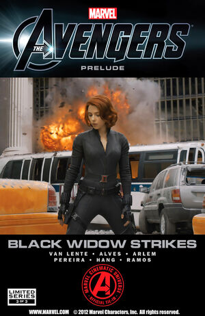 Marvel The Avengers Black Widow Strikes Vol 1 3