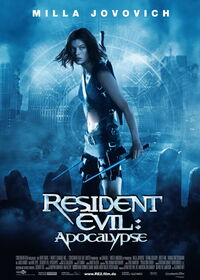 Resident Evil Apocalypse Poster
