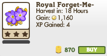 Royal Forget-Me-Not Market Info