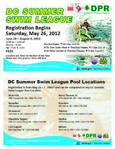 DC summer league brochure