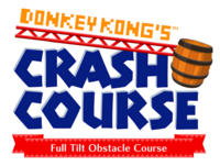 Nintendo Land - Donkey Kong Crash Course logo