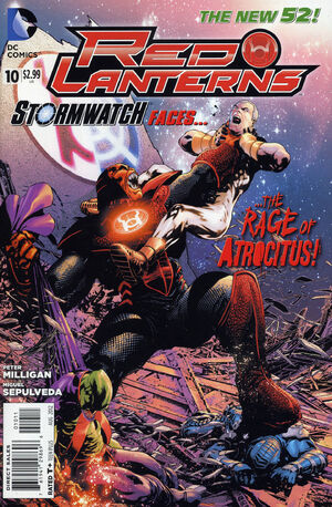 Cover for Red Lanterns #10