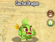 Cactus dragon lv1-3