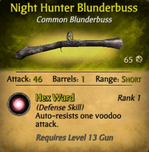 Night Hunter Blunderbuss - clearer