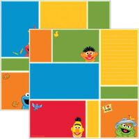 Ek success 2011 sesame double sided paper color blocks