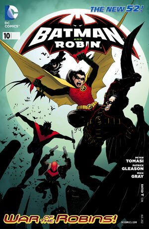 Cover for Batman and Robin #10