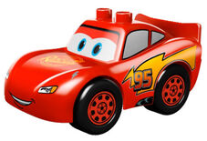 Duplo lightning mcqueen