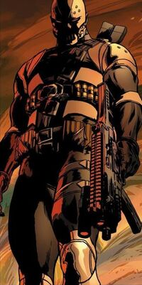 Dennis Dunphy (Earth-616) as Scourge from Captain America Vol 6 11