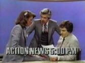 WPVI-TV's Channel 6 Action News At 5 Video Promo From The Early 1980's