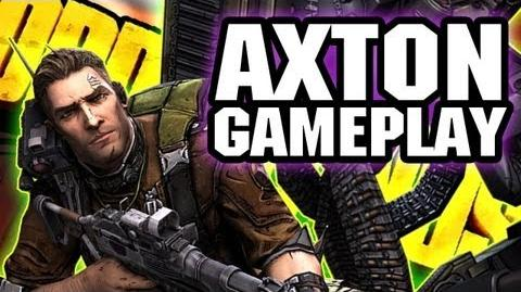 Borderlands 2 AXTON Gameplay Walkthrough! 10 Minutes of Commando Gameplay