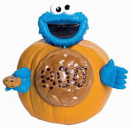 Paper magic cookie pumpkin