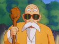 Roshi looks relieved