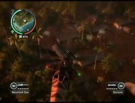 Just Cause 2 - Gunung Hutan Merah - military base 038