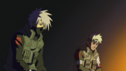 Sakumo and Kakashi speak