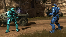 Tucker and Caboose speak with Epsilon