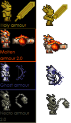 Terraria armor concepts
