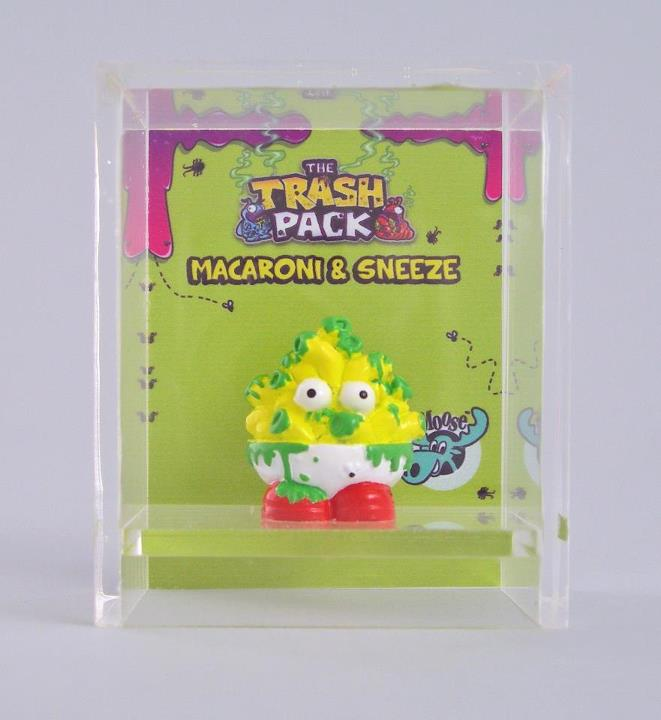 Trash Pack Series 4 http://thetrashpack.wikia.com/wiki/Macaroni_and_Sneeze