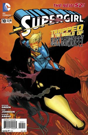 Cover for Supergirl #10