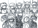 All armors art
