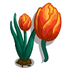 Orange Tulip-icon