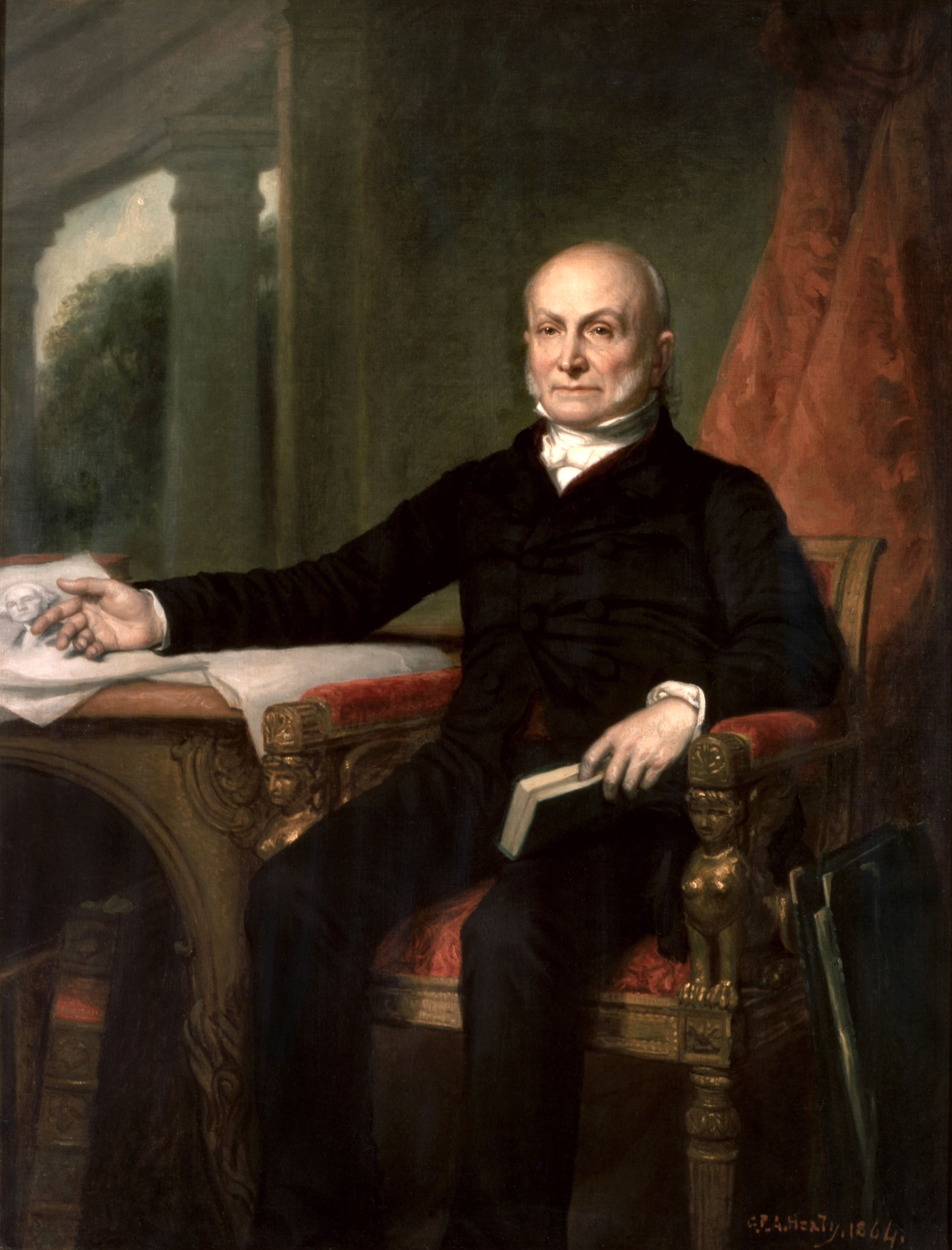 John quincy adams by gpa healy 1858