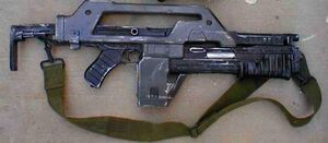 Armat M41A Pulse Rifle