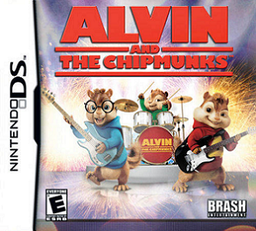 Alvin and the Chipmunks Video Game Boxart