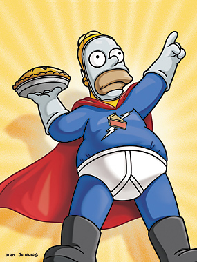 homer simpson hero Bart simpson, an underachiever and proud of it  bart is one of 3 children of marge and homer simpson  this time, instead of taking the role of main hero or equal partner,.