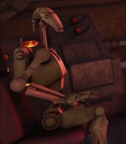 Unidentified B1 battle droid 8 (Malevolence)