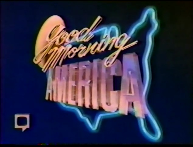 ABC NewsGood Morning America Video Open From Monday Morning, April 6, 1987