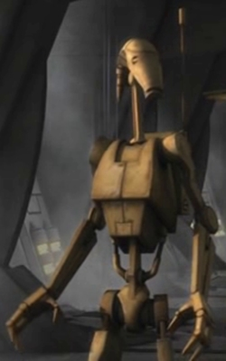 Unidentified B1 battle droid 13 (Malevolence)